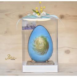 Uovo Pasqua Latte e Mirtillo