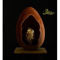 Uovo Pasqua la Rinascita Oro 24k