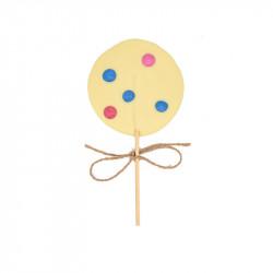 Lecca lecca Cioccolato bianco Mini Rollies