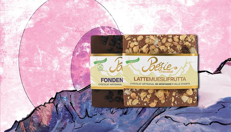 I quadrotti di Poésie chocolat