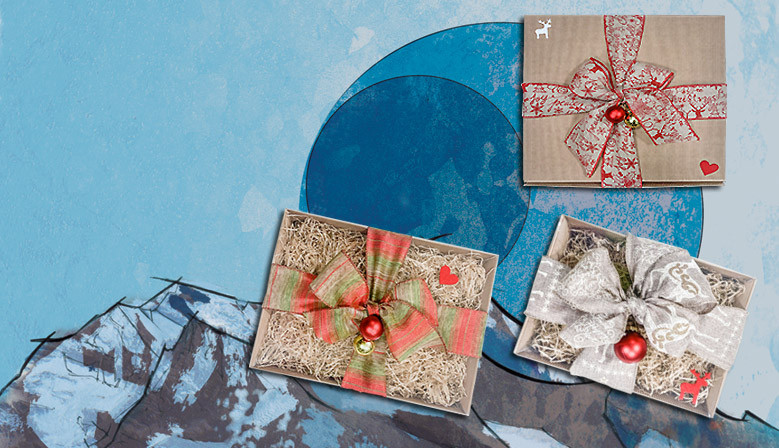 Confezioni regalo per Natale: crea la tua confezione e fai il tuo regalo